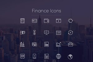Finance Icons Vol1