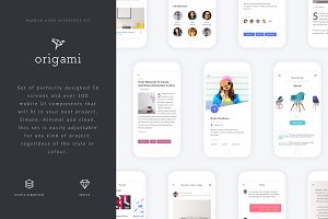Origami - Mobile UI Kit