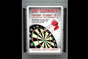 Dart Tournament Flyer