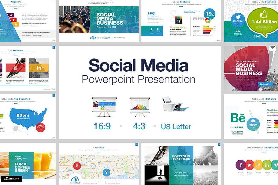 Presentation about social media free download now!