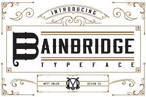 Bainbridge Typeface
