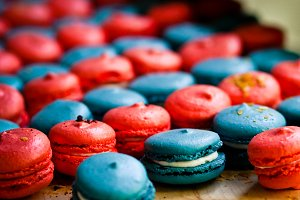 Macaroons, French Desserts