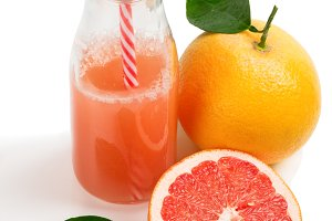 Juice and fresh grapefruit.