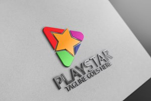 Play Star logo