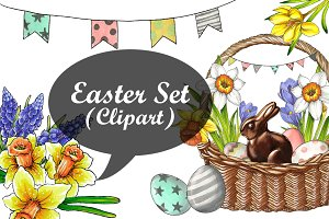Easter Set (ClipArt)