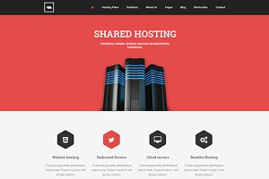 PGL Hosting PSD Template