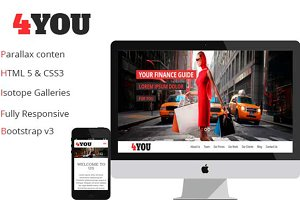 4YOU – One Page Event / Product Boot