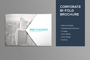 4 Pages Landscape Brochure
