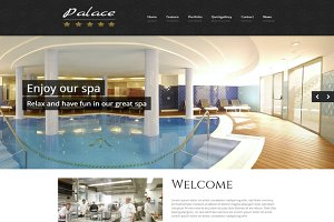 Palace - WordPress Hotel Theme