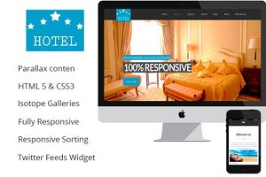 Comfort – A One Page Hotel / House R