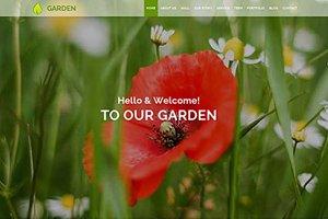 Garden Responsive HTML5 Theme