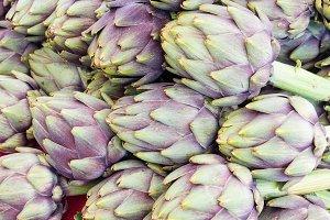 Fresh artichokes