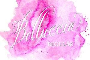 Belluccia Hand Lettered Font