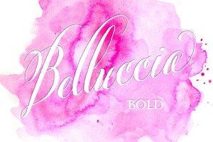 Belluccia Bold Hand Lettered Font