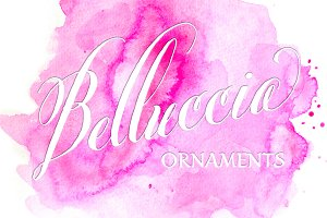 Belluccia Hand Drawn Ornaments