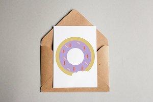 Donut Art Illustration