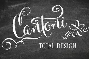 Cantoni Total Design Font