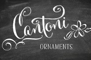 Cantoni Ornaments Font