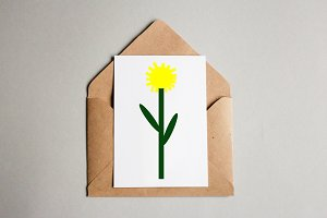 Dandelion Art Illustration