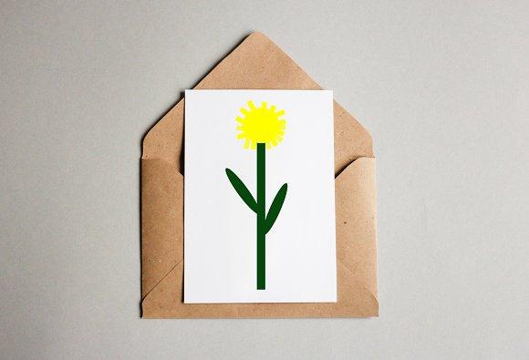 Dandelion Art Illustration