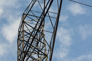 Metal electrical tower
