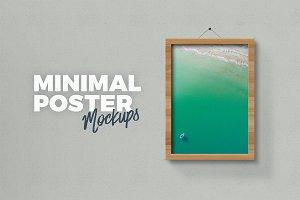 Minimal Poster Mockups