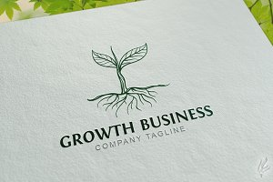Growth Tree - Logo Template