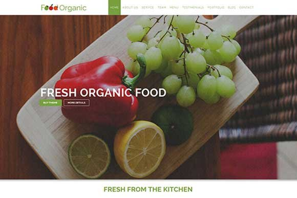 Food Organic – For Healthy Food HTML