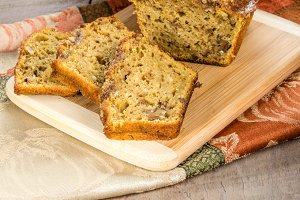 Pumpkin walnut bread