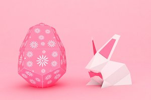 DIY Easter Egg  - 3d papercrafts