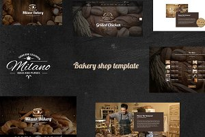 Milano – Bakery WordPress Theme
