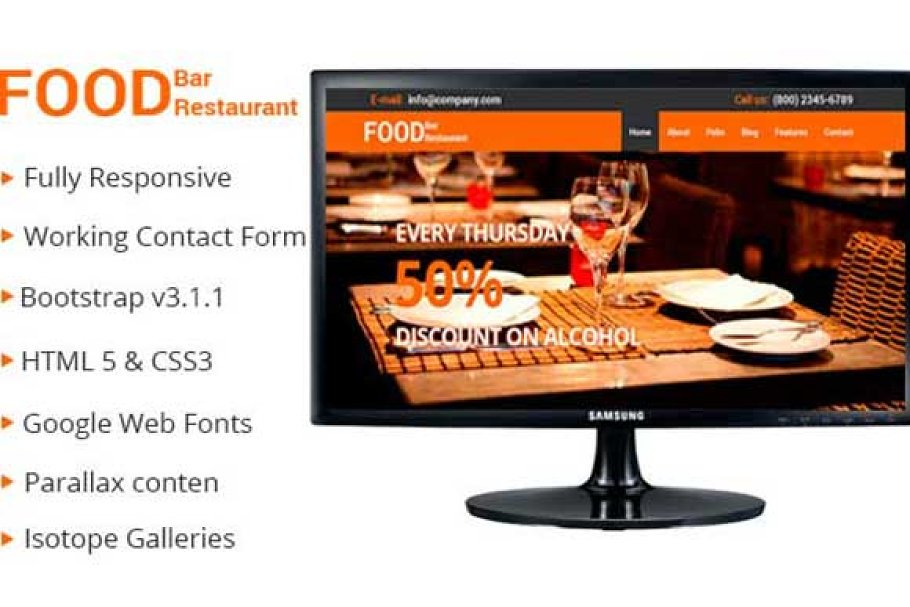11 Restaurant Blog Themes & Templates