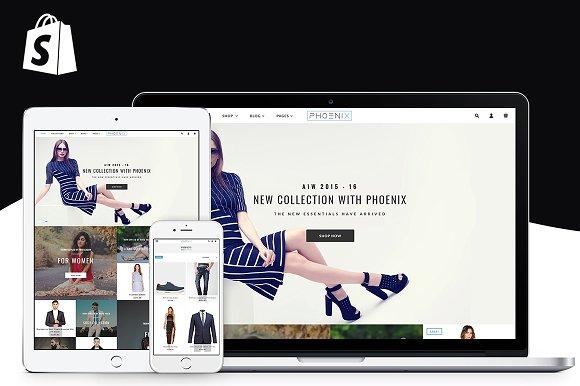Phoenix Shopify Theme Fashion