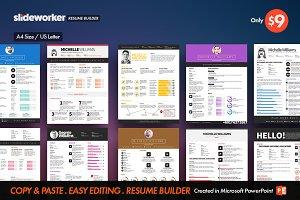 Clean Resume/CV Builder