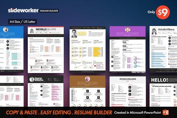 Clean Resume CV Builder