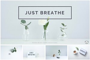 Styled Stock Photos | Just Breathe