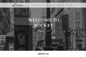 Rocket – Multipurpose Template