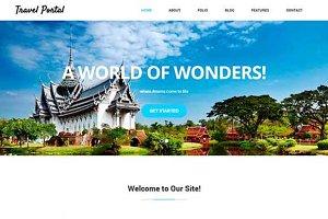 Travel Portal–HTML5 & CSS3 Template