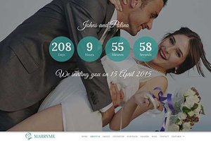 Marryme – Responsive Wedding Theme