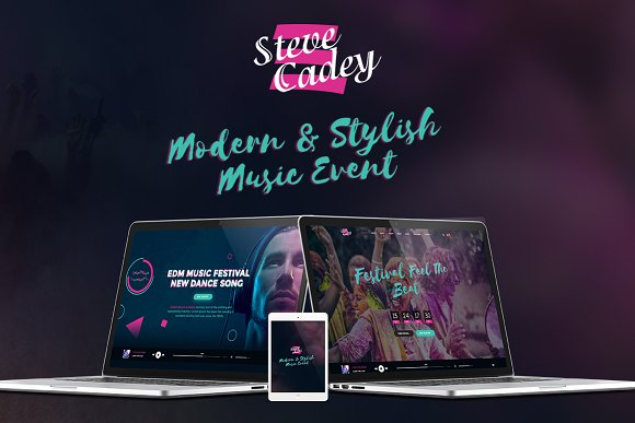 Steve Cadey Modern Stylish Music