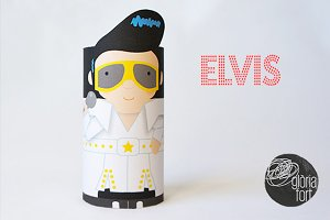 ELVIS PRESLEY _ paper game