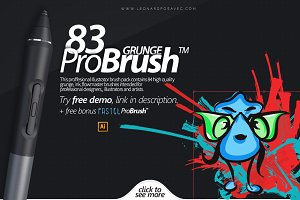83 Grunge ProBrush™ + Free Demo