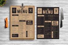 delicious menu