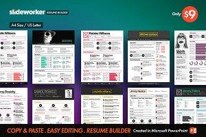 Box Resume/CV Builder