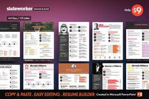 Boldicon Resume/CV Builder