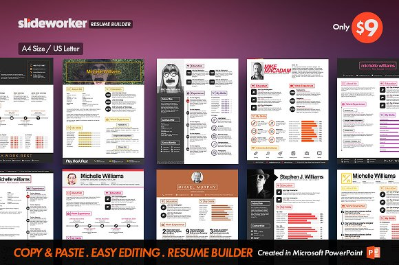 Boldicon Resume CV Builder