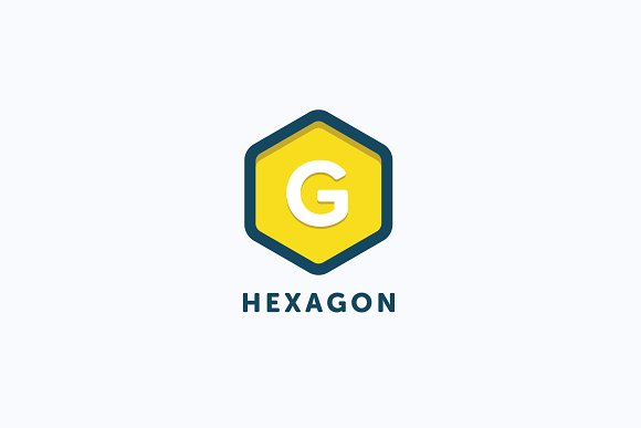 G Hexagon Logo Template