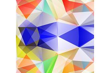 Triangle background.