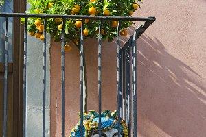 Taormina Balcony