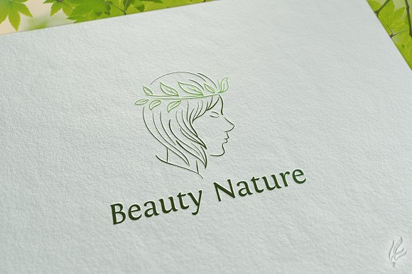 Beauty Nature Logo Template
